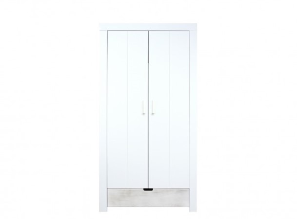 Bopita deurskast wit front blue wash bopita deurskast