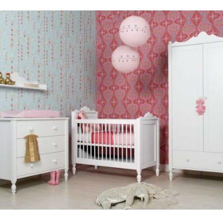 Bopita babykamer Belle Wit 3 delig