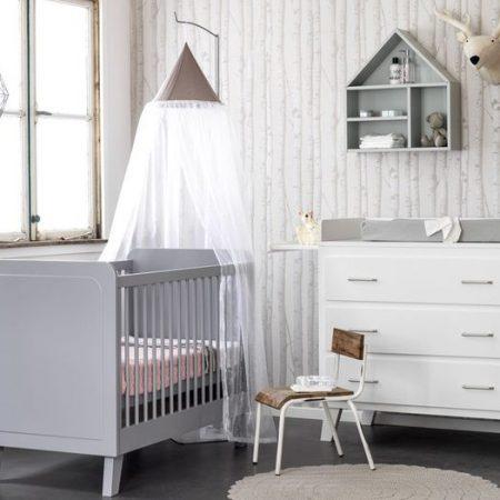 Coming Kids Babykamer 3 Delig Scandi Grijs