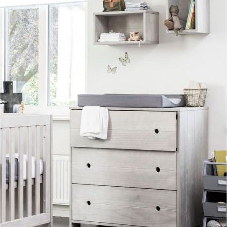 Babykamer Coming Kids Timber 3 Delig Greywash