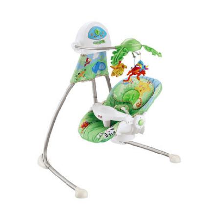 fisher price schommelstoel rainforest cradle swing images