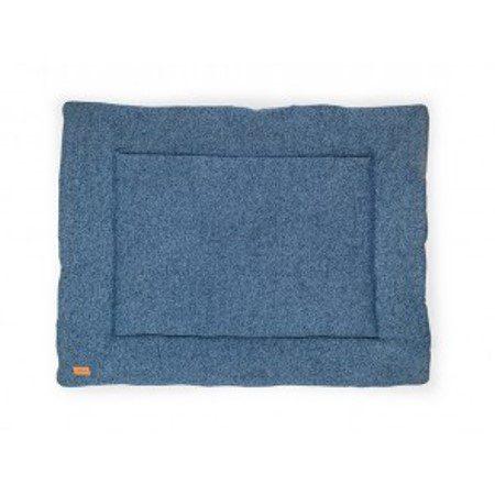 Jollein Boxkleed Stonewashed knit navy 80x100cm