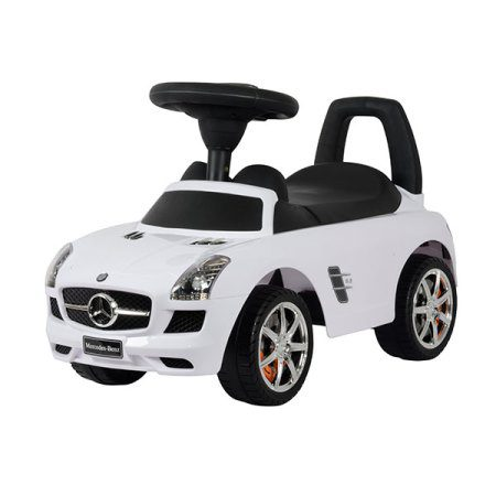 Kees Loopauto Mercedes Wit