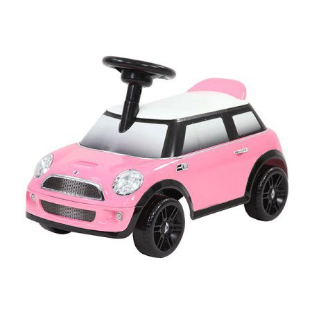 Kees Loopauto Mini Roze