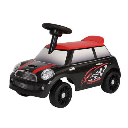 Kees Loopauto Mini Zwart