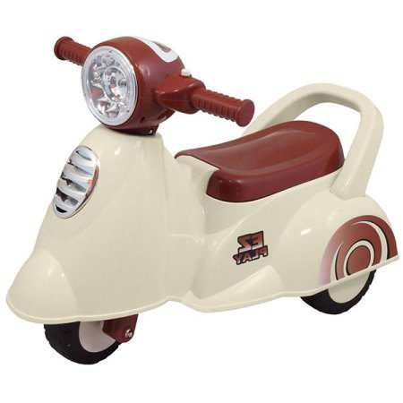 Kees loopauto Scooter Wit