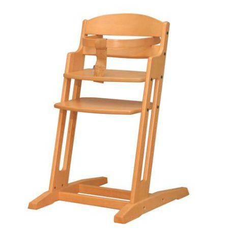 Dan High Chair kinderstoel Naturel