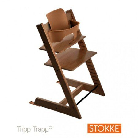 kinderstoel-stokke-tripp-trapp-walnut-brown-inclusief-babyset