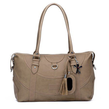 Little Company Totem Tote Bag Taupe