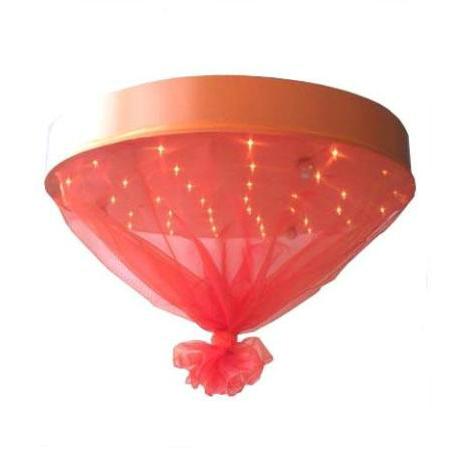 Plafonniere Carolina Oranje - Lampen Babykamer
